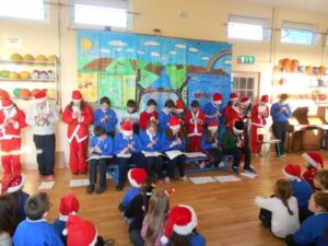 Fifth and Sixth Class Tin Whistle Performance