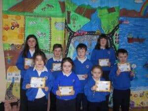 well done to the pupils of the week