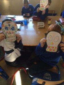 Halloween skulls 1