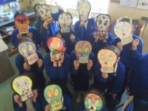Halloween skulls 12