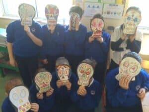 Halloween skulls 4