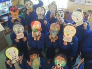 Halloween skulls 7