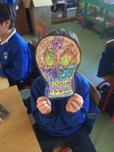 Halloween skulls 9