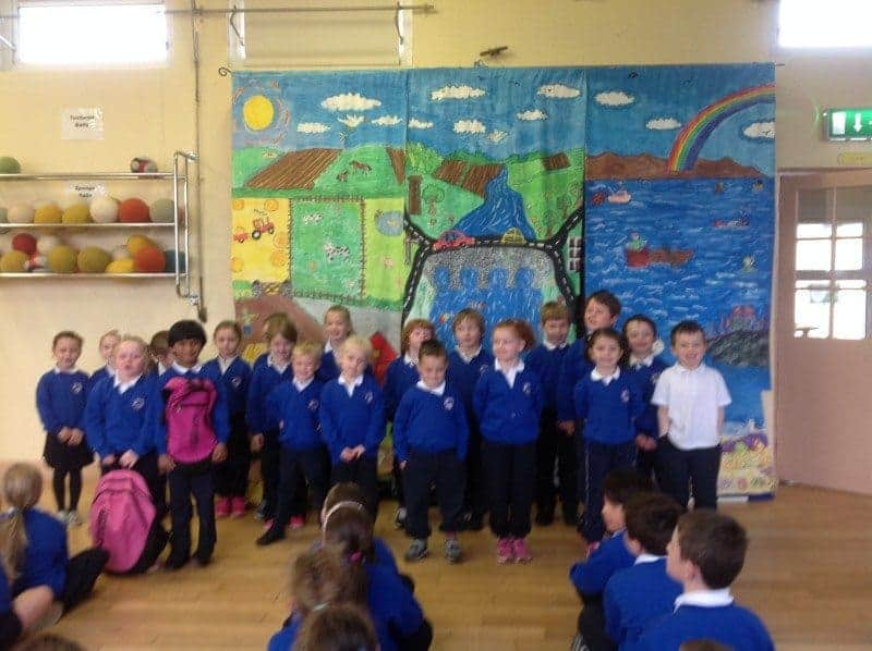 Well Done to the infants